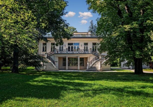 Villa di Klimt - vista lato nord