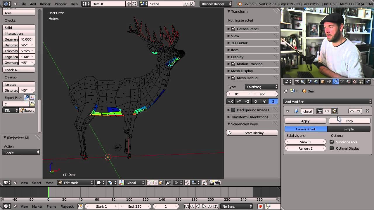 Blender For 3D Printing #3DThursday