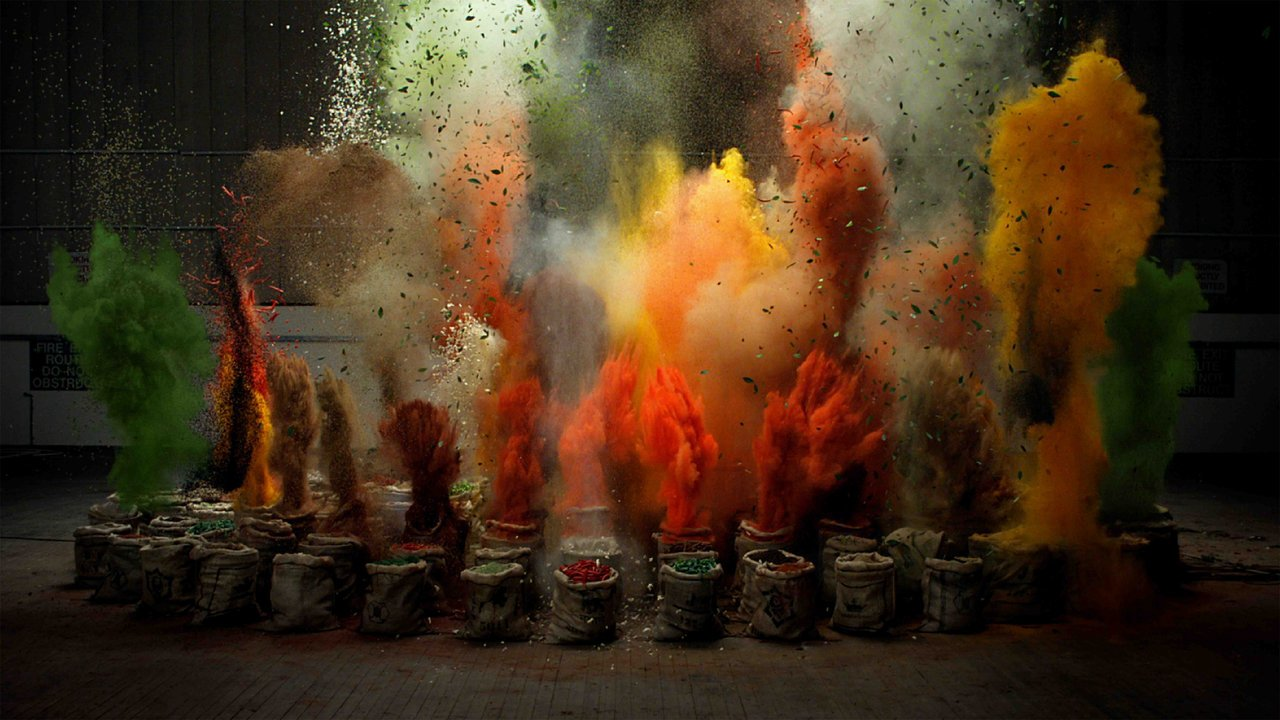 What An Explosion Of Flavor Looks Like In Slow Motion