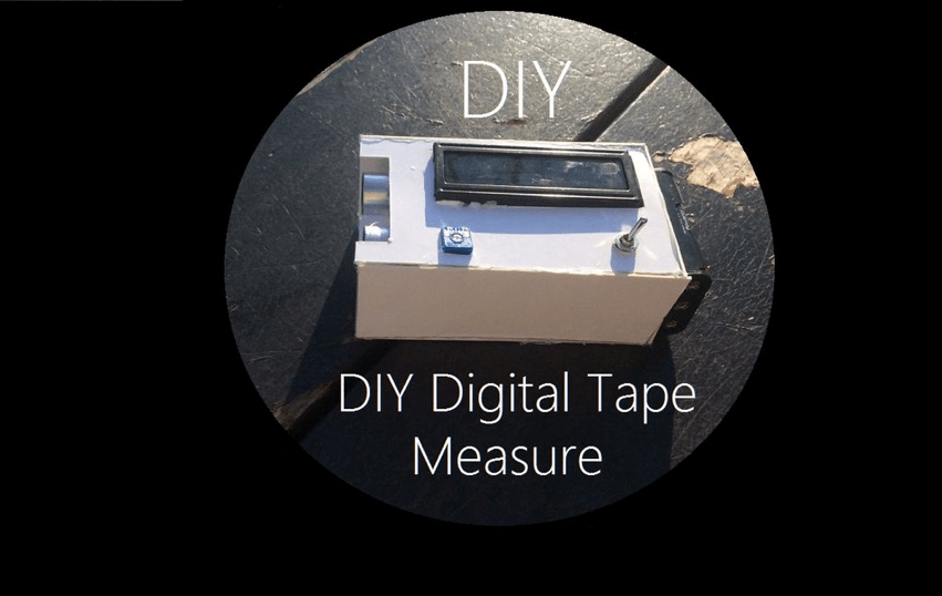 How To Make A Digital Tape Measure With Arduino Arduino
