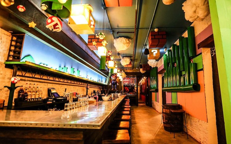 Mario Themed Bar Will Warp You Straight Into The Mushroom