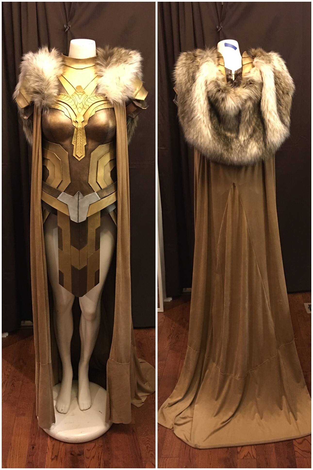The Making Of A Queen Hippolyta Costume 171 Adafruit
