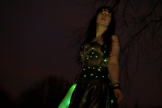 Corset Dress with LED Lights