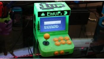 Pi Score Tabletop MAME Arcade Cabinet #3DThursday