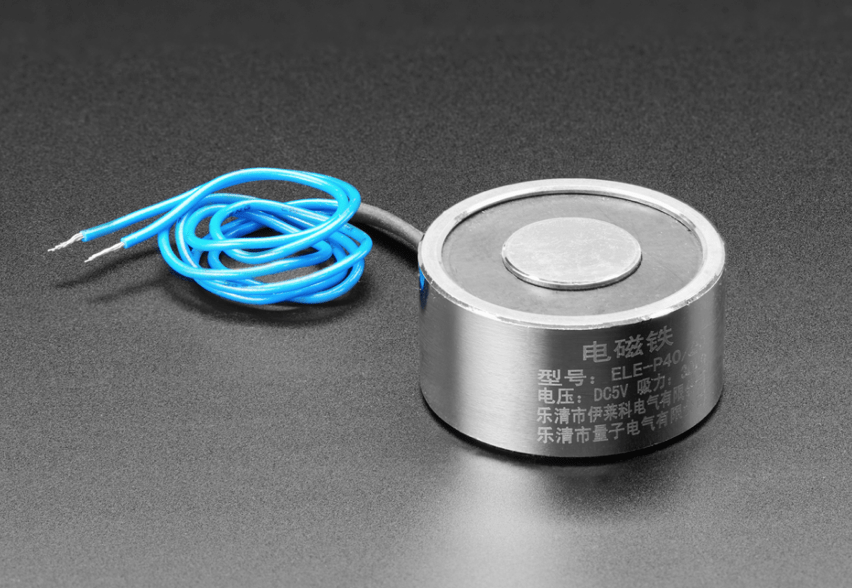 5V Electromagnet 25 Kg Holding Force P40 20 ID 3875 19 95 Adafruit Industries Unique fun DIY electronics and kits