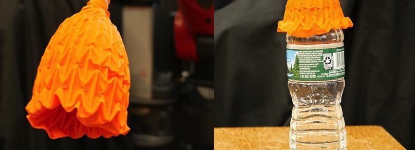 Origami robot gripper mit csail designboom 1800