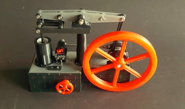 Solenoid Steamengine by The M3chanic Thingiverse
