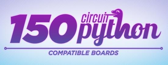150 CircuitPython Compatible Boards