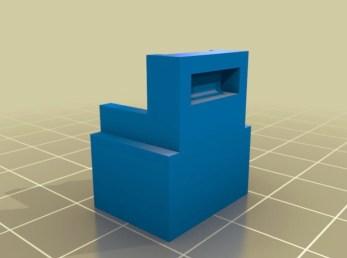 DC Power Female Plug holder by ifeyes 3D TAT Thingiverse