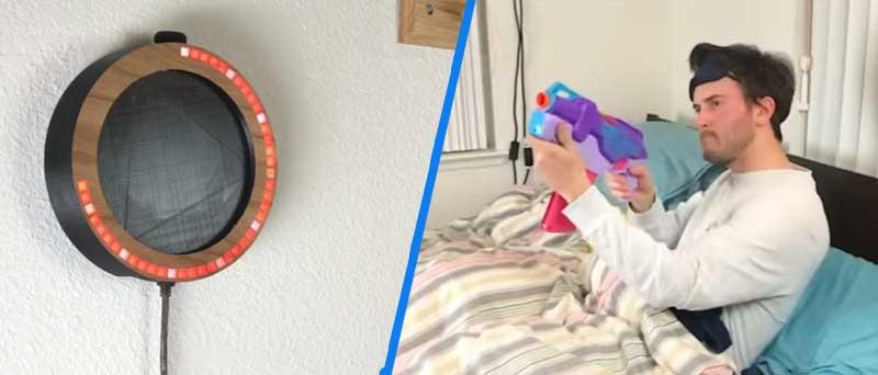 Cómo hacer el despertador LED definitivo con Arduino (requiere puntería!)