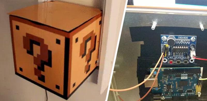 Mario Mushroom Block: La seta de Mario Bros con Arduino
