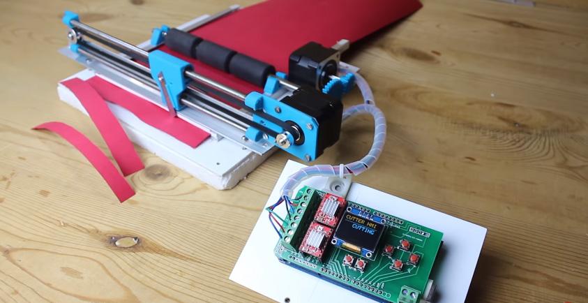Cómo hacer una máquina para cortar papel con Arduino