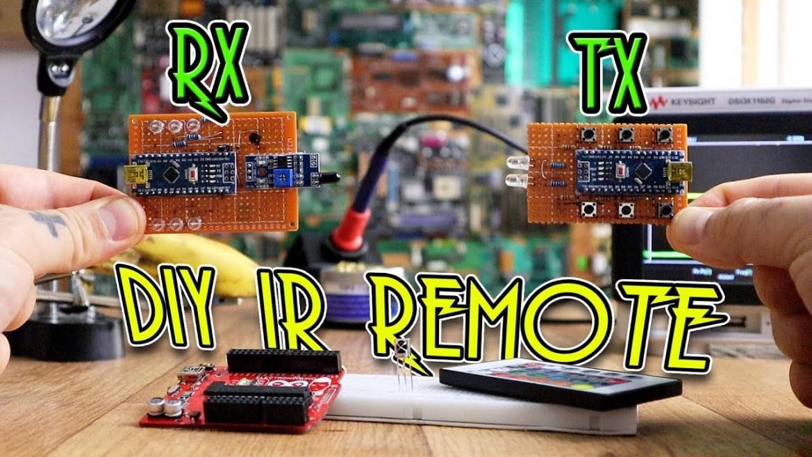 Cómo hacer un control remoto IR casero con Arduino