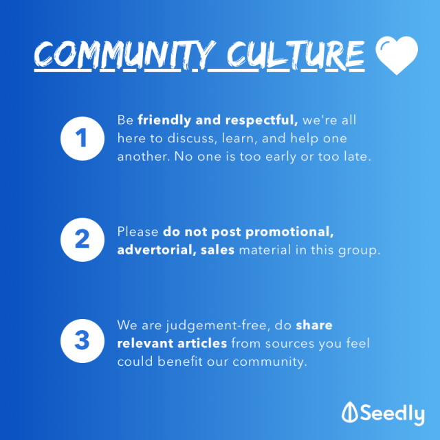 Seedly Culture Community