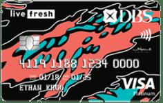 DBS Live Fresh Credit Card