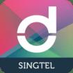 Singtel dash logo