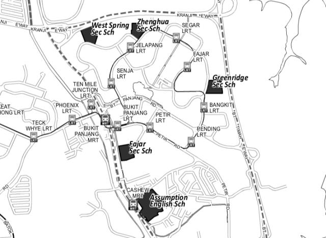 Secondary Schools in Bukit Panjang