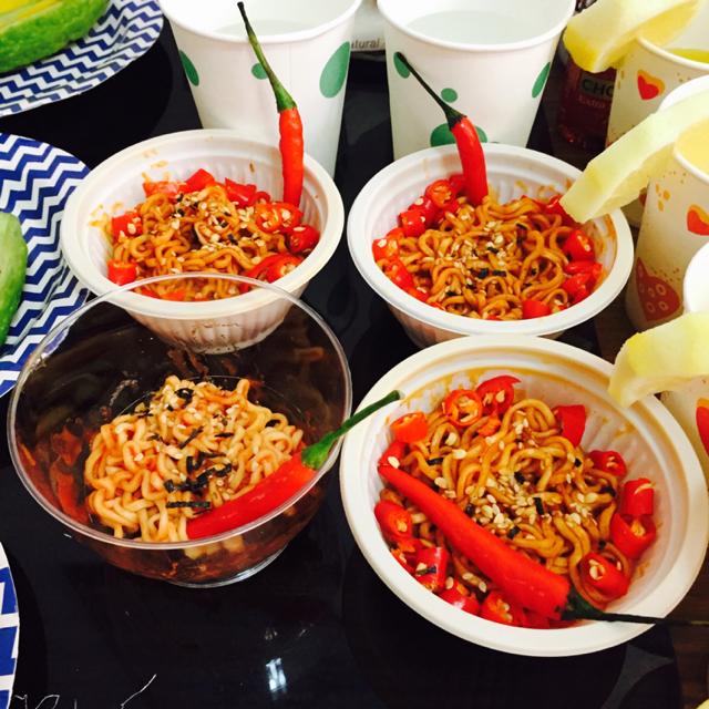 Wedding Gatecrash Korean Spicy Noodles