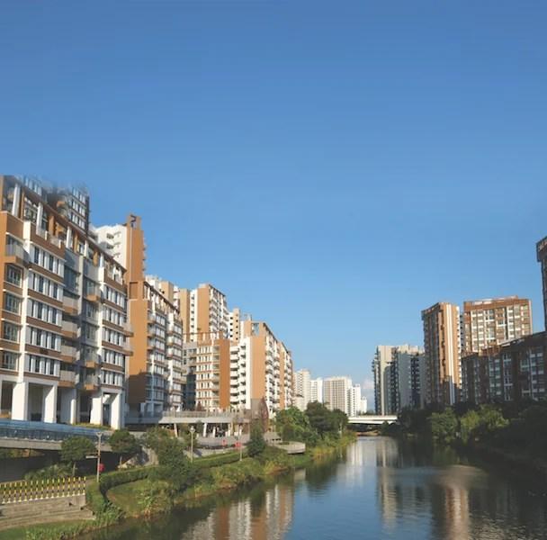 Punggol Waterfront Housing