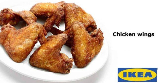 Ikea Fried Chicken Wings