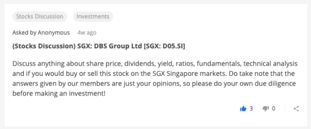(Stocks Discussion) SGX: DBS Group Ltd [SGX: D05.SI]