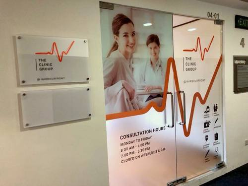 the clinic group medical clinic harbourfront singapore