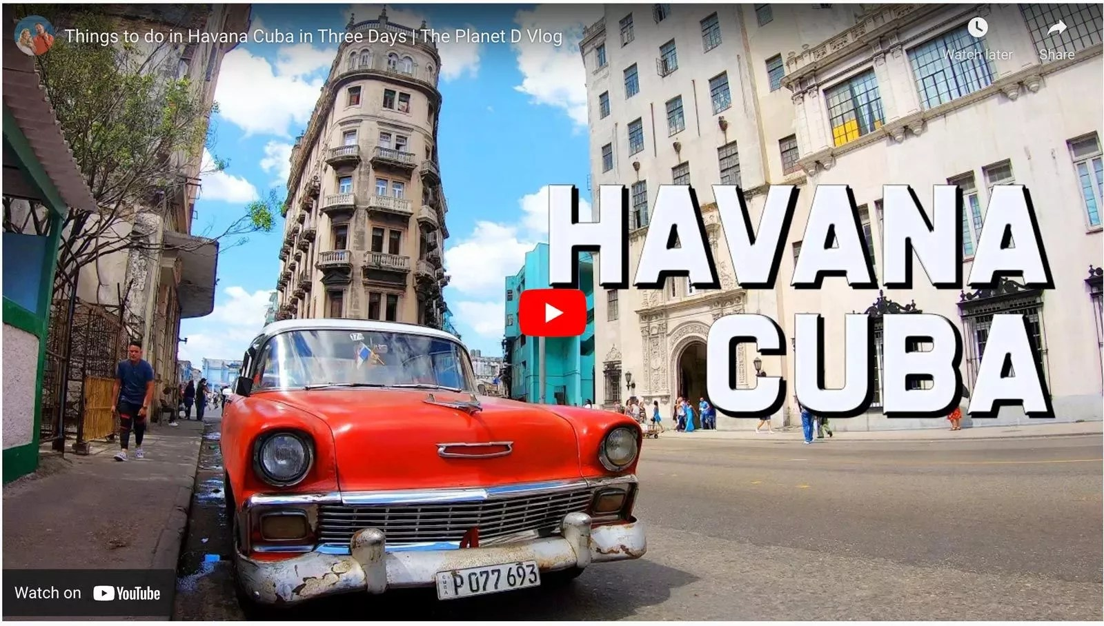facts about havana video