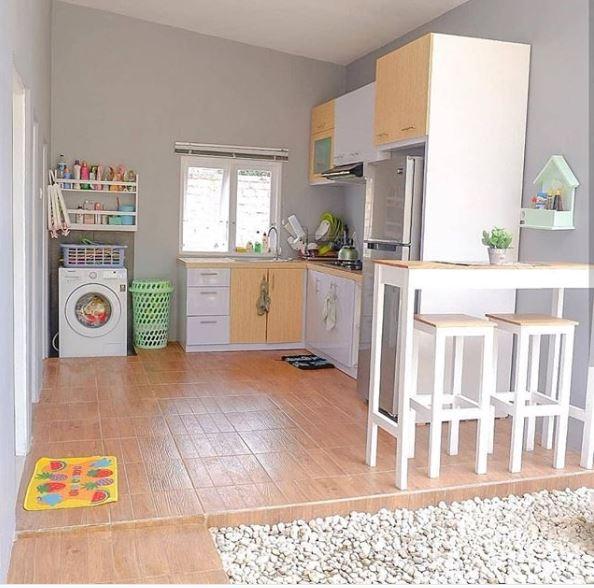 Desain Dapur Minimalis Warna Putih