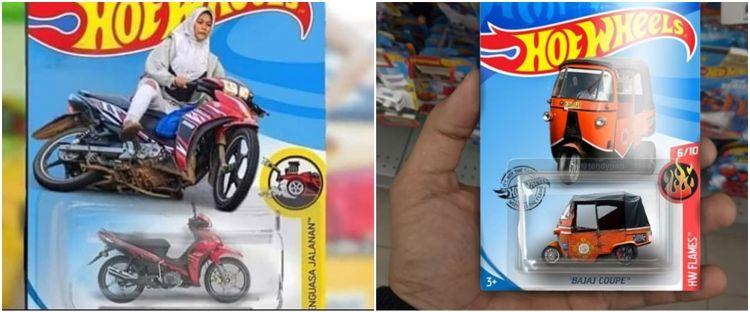 15 Editan Mainan Hot Wheels Nyeleneh Lucu Tapi Bikin Kesal