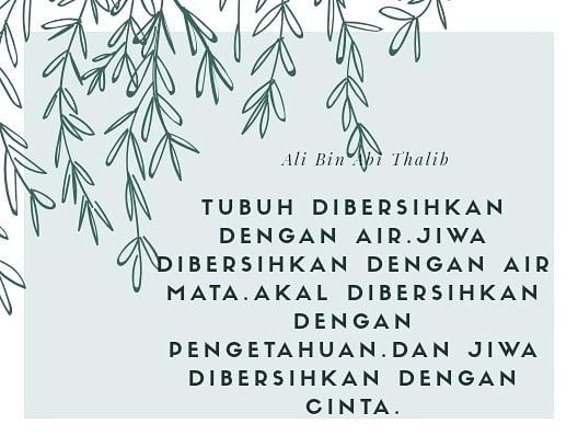 Kata Kata Bijak Dari Sahabat Nabi Muhammad Saw