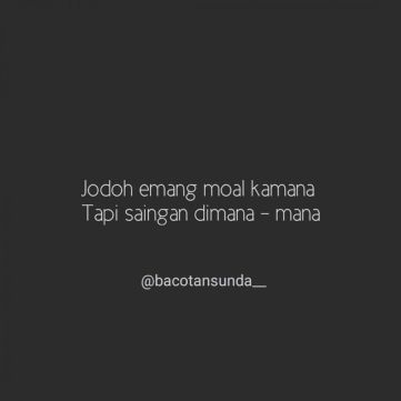 status FB bahasa Sunda instagram