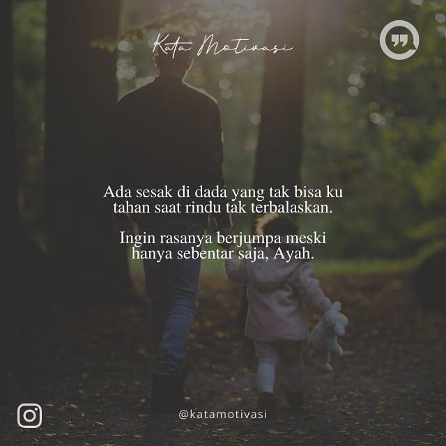 Kata Kata Mutiara Untuk Ayah Yang Sudah Meninggal Dunia