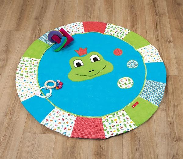 idee couture couverture d eveil grenouille buttinette loisirs creatifs