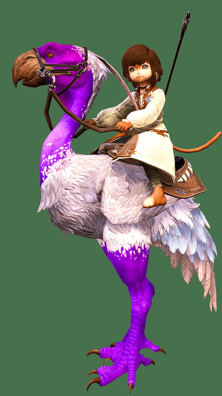 Twitch Axe Beak mount