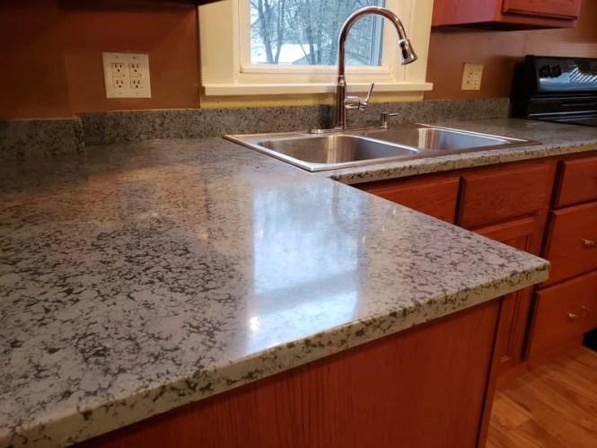 Adding Gl To Concrete Countertops