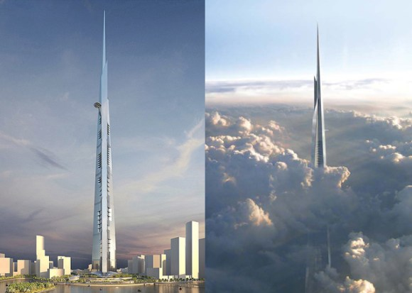 The-Kingdom-Tower salam construction
