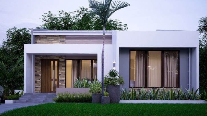 15 Denah dan Desain Rumah Minimalis Modern 2021   Rumah.com