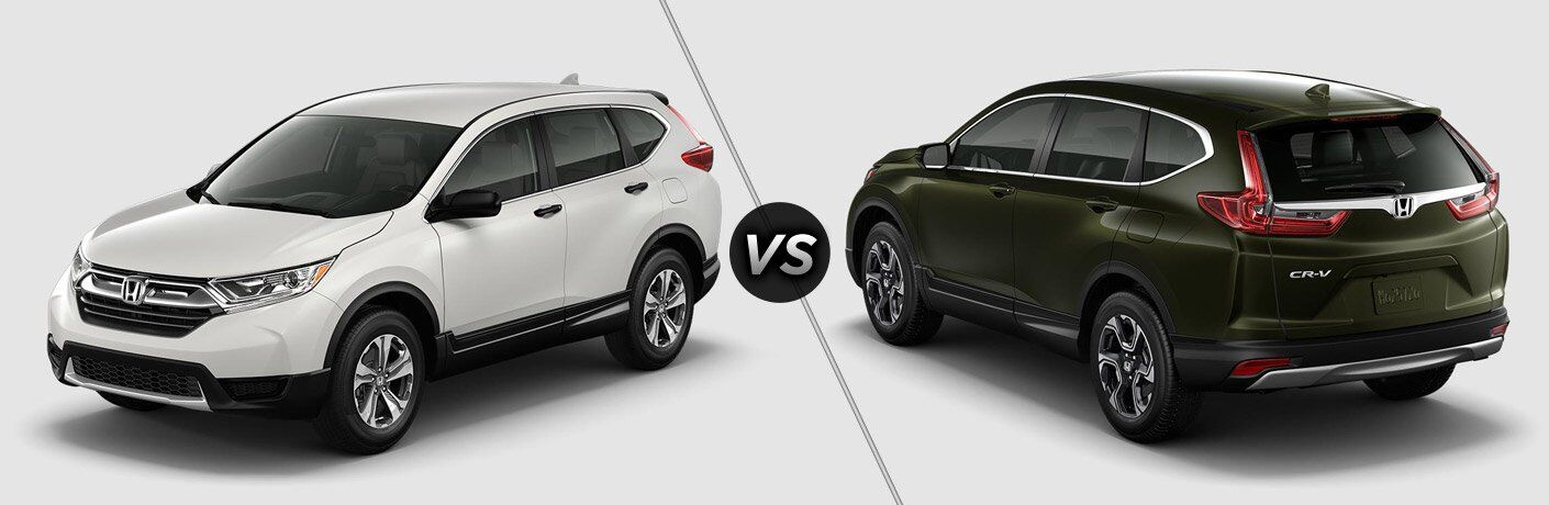 2017 Honda CR V LX Vs 2017 Honda CR V EX