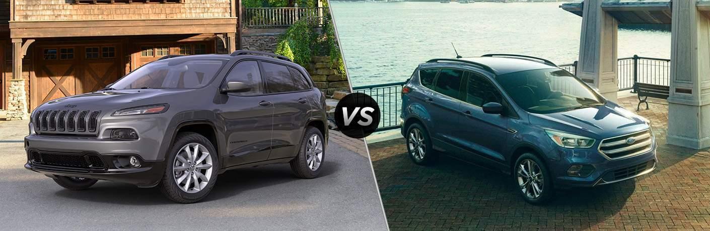 2018 Jeep Cherokee Vs 2018 Ford Escape