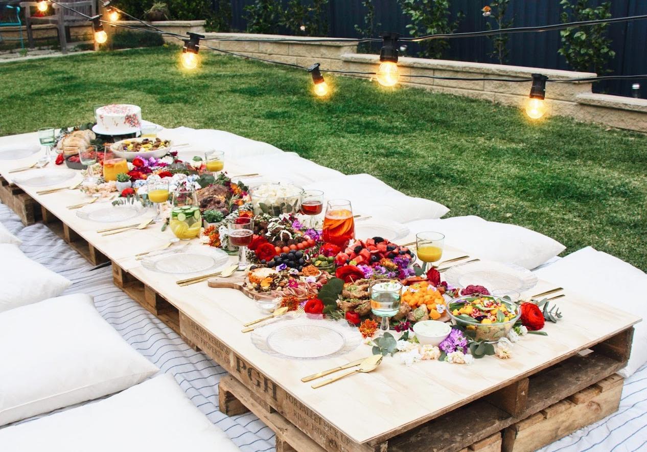une garden party canon