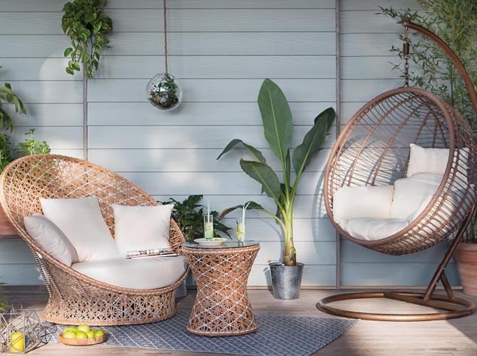 mobilier de jardin la collection 2016 jardiland elle decoration