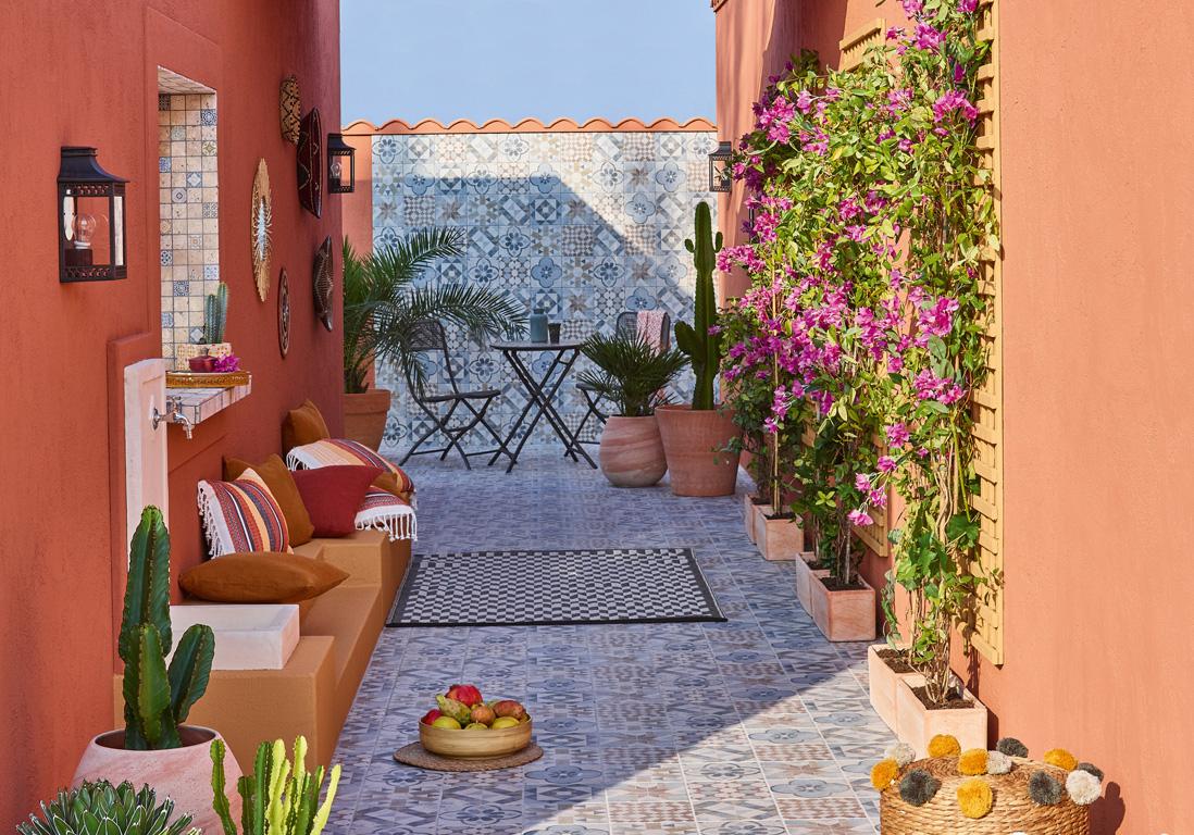 55 Idees Deco Pour S Amenager Une Terrasse Canon Elle Decoration