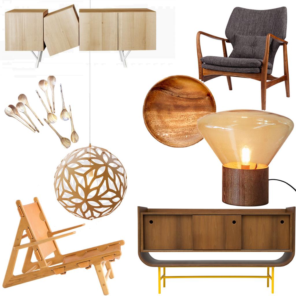 meuble en bois clair bois blond ou