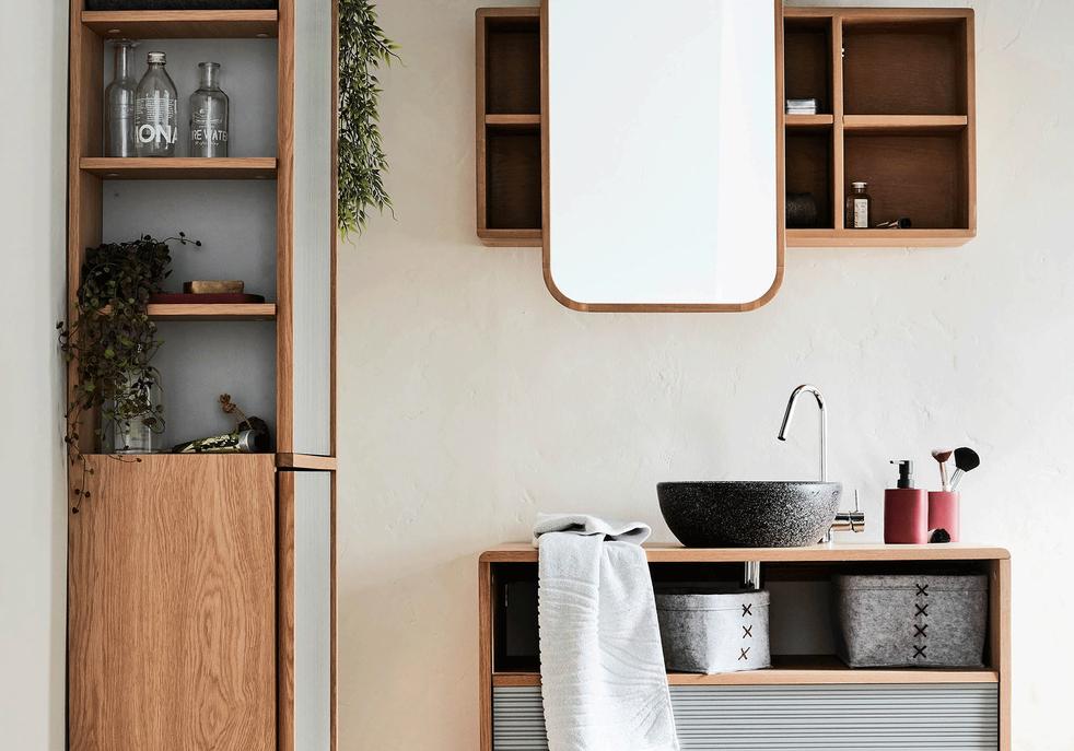 meubles pour une petite salle de bains