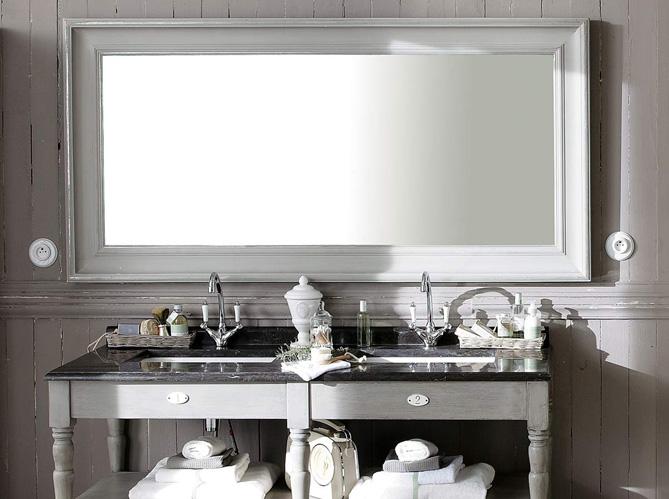 Miroir Salle De Bain Elle Decoration