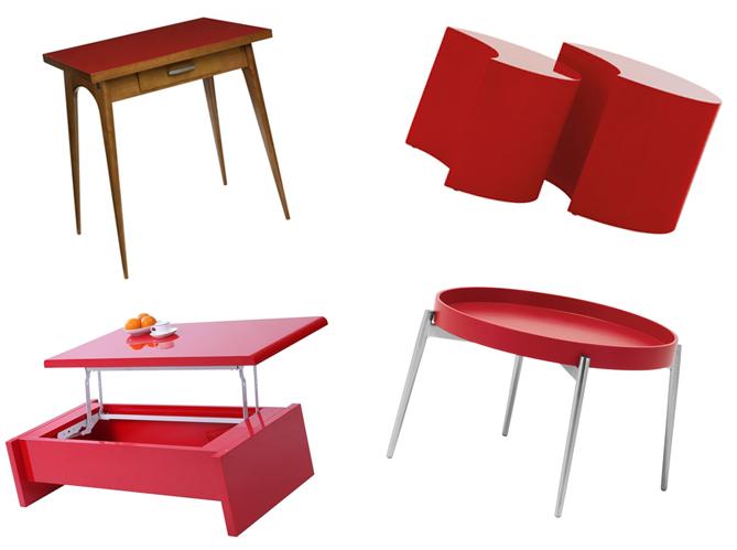 20 tables rouges pour reveiller votre
