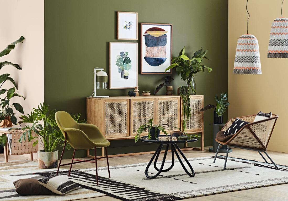 voici plus beaux salons verts a copier