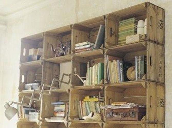 3 Idees De Bibliotheques A Fabriquer Soi Meme Elle Decoration