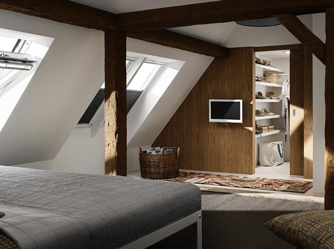 35 Chambres Sous Les Combles Elle Decoration