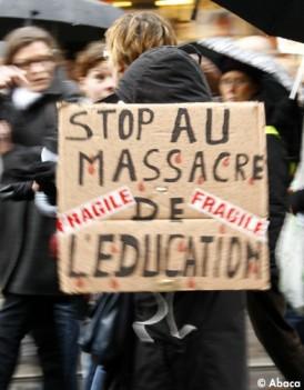 L enseignement prive fera aussi greve avec le public